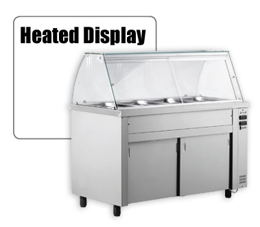 heated display